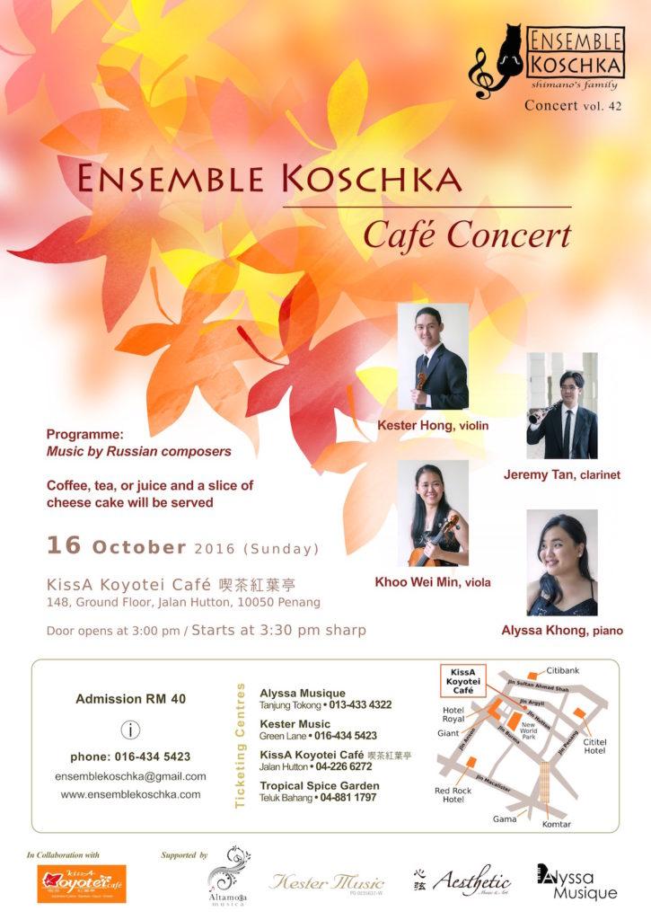 Ensemble Koschka Concert vol. 42: Café Concert