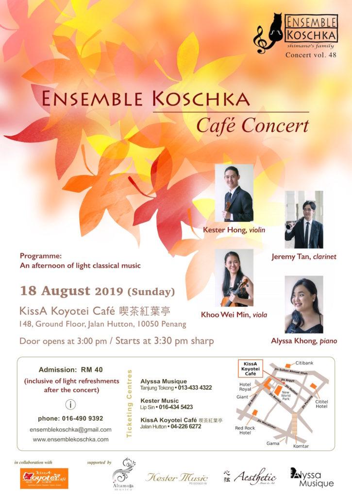 Ensemble Koschka Concert vol. 48: Café Concert