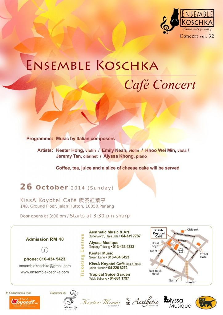 Ensemble Koschka Concert vol. 32: Café Concert