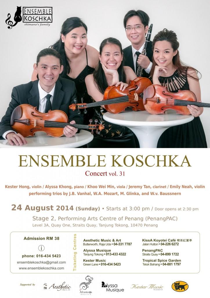 Ensemble Koschka Concert vol. 31