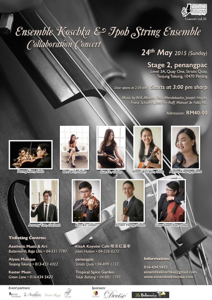 Ensemble Koschka & Ipoh String Ensemble Collaboration Concert vol. 35