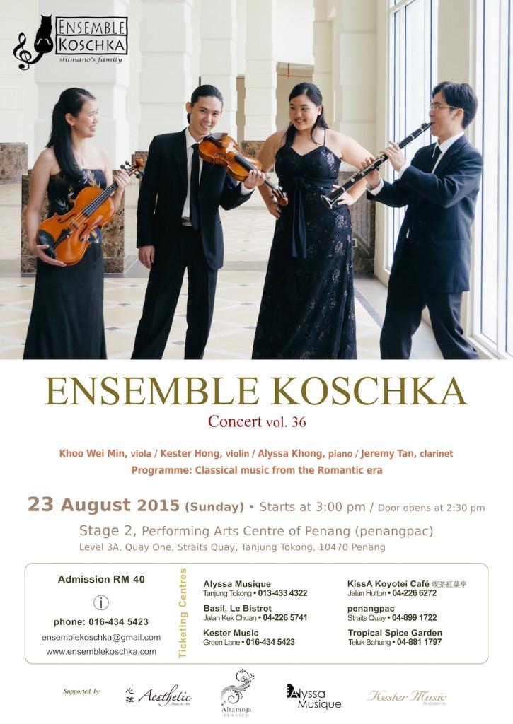 Ensemble Koschka Concert vol. 36