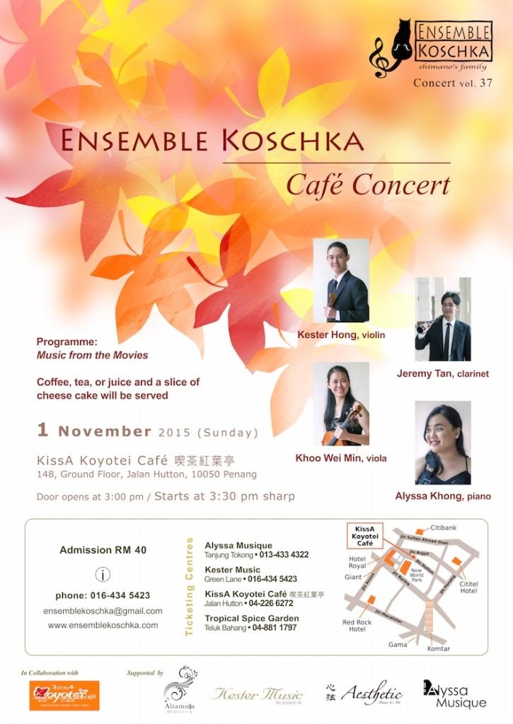 Ensemble Koschka Concert vol. 37: Café Concert