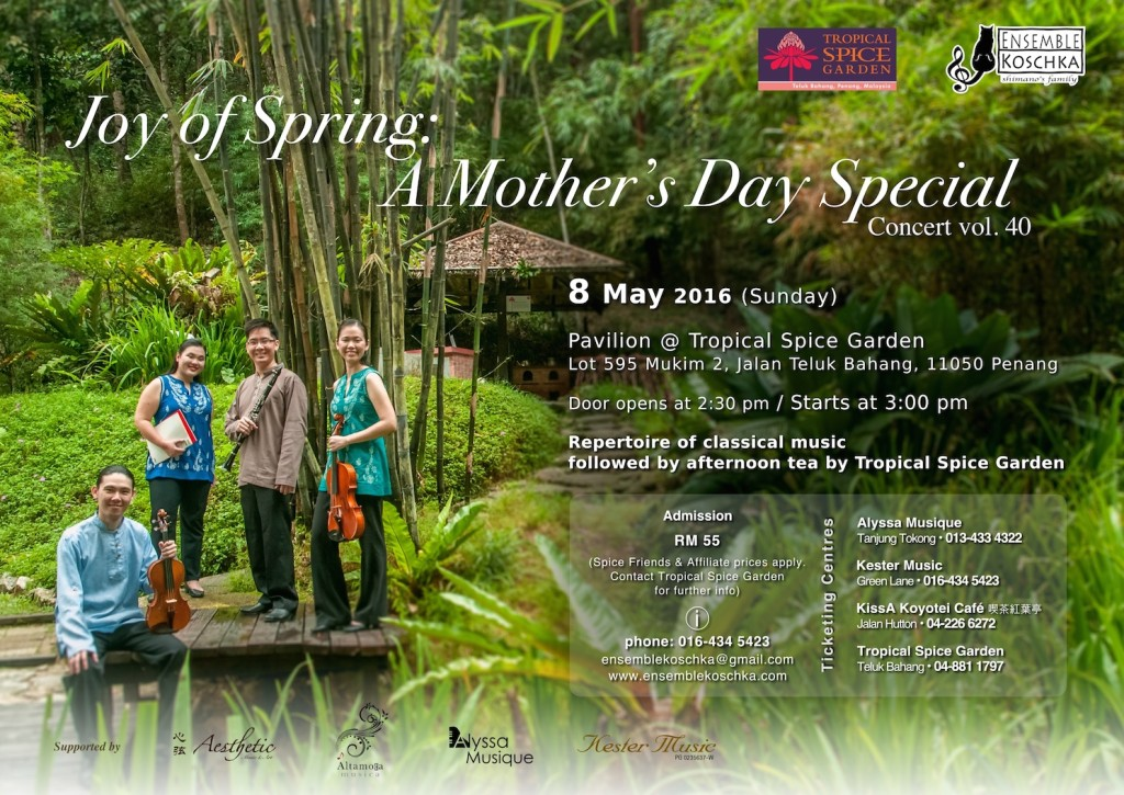 Ensemble Koschka Concert vol. 40: Joy of Spring - A Mother's Day Special
