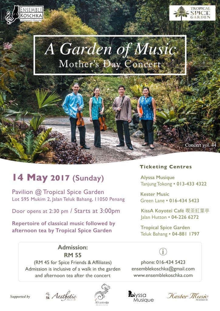 Ensemble Koschka Concert vol. 44: A Garden of Music