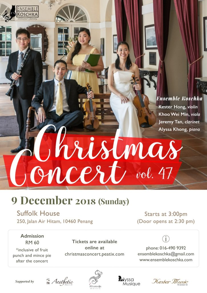 Ensemble Koschka Concert vol. 47: Christmas Concert