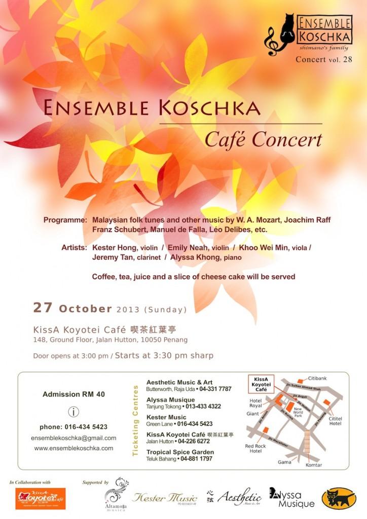 Café Concert, vol  28 - Concerts - Ensemble Koschka