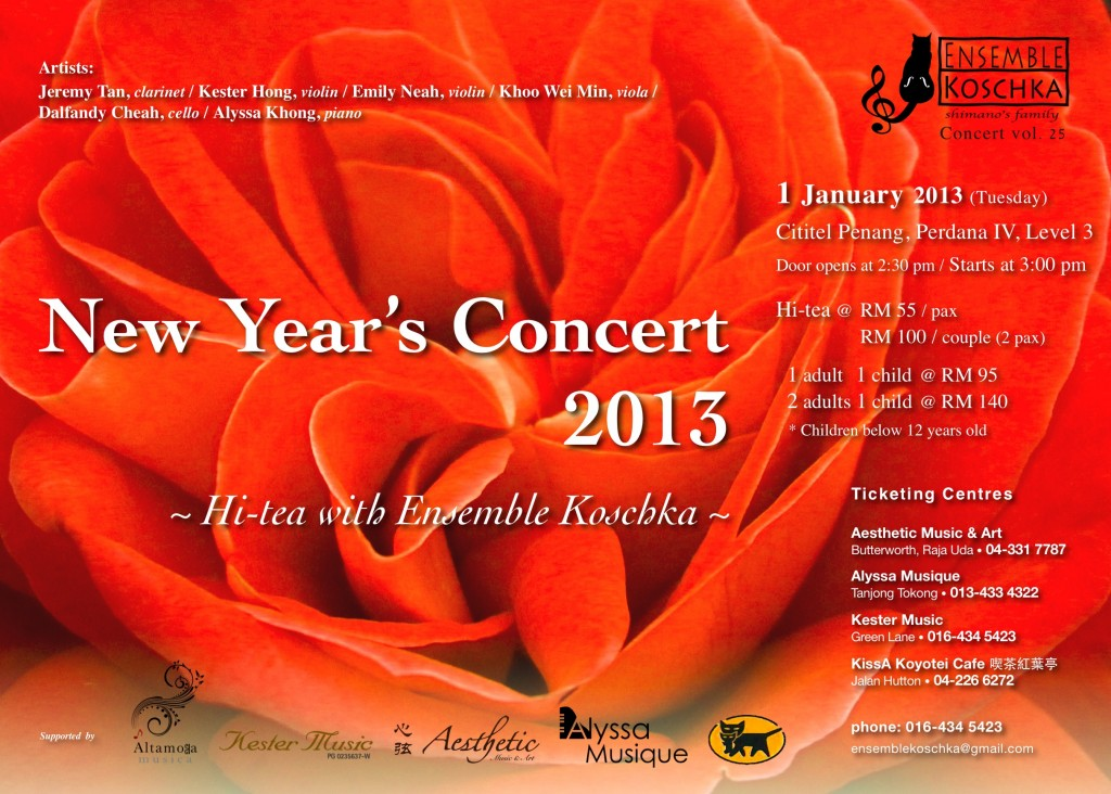 Ensemble Koschka Concert vol. 25: New Year's Concert 2013